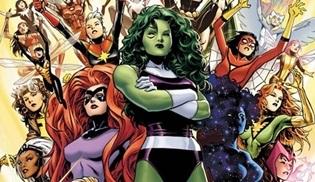 ABC, Marvel'ın kadın karamanlarını konu alan yeni bir dizi için hazırlıklara başladı