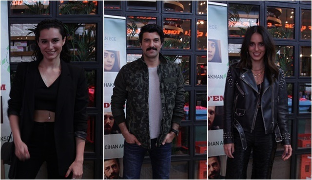 Taksim Hold'em ekibi filmi ünlü oyuncularla birlikte izledi!