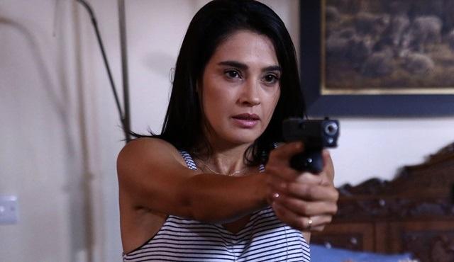 Funda Eryiğit, Can Kırıkları dizisindeki rolü için silah eğitimi aldı!