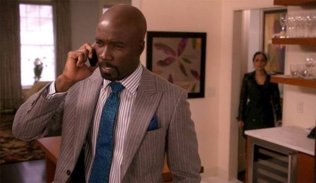 Mike Colter,The Good Fight dizisinde de rol alacak