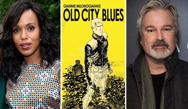 Kerry Washington, Old City Blues dizisinin kadrosuna dahil oldu