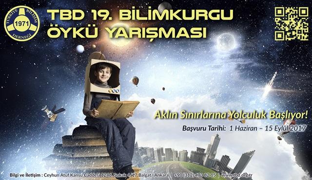 Türkiye Bilişim Derneği'nin 19. bilimkurgu öykü yarışması başladı!