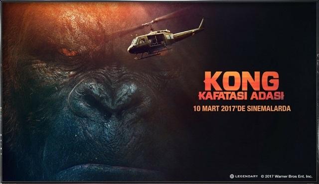 Kong: Kafatası Adası yarışmasına katıl, LG TV kazanma şansı yakala!