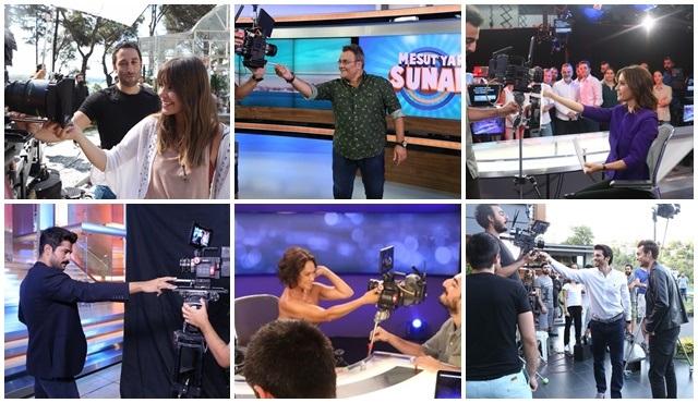 Star Tv, yeni sezon tanıtımında yıldızlarını set ortamında ziyaret etti!