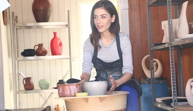 Fulya Zenginer, Seni Kimler Aldı dizisi için seramik dersi aldı!