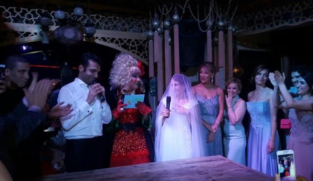 Derya Karadaş ve Haki Biçici çiftine mizansen nikah töreni!