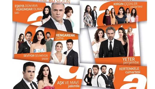 ATV, yeni yayın dönemine hazır!
