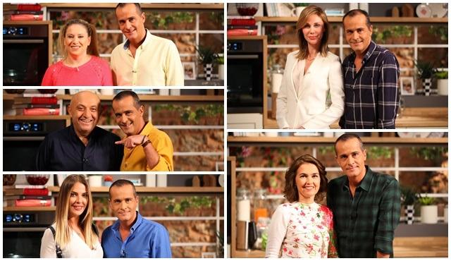 Mehmet Özer ile Mutfakta, ünlü konuklarını ağırlamaya devam ediyor!