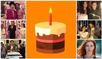 Dizilerin unutulmaz doğum günü partileri!