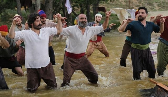 'Geym of Bizans / Bizans Oyunları' setinde eğlenceli dakikalar!