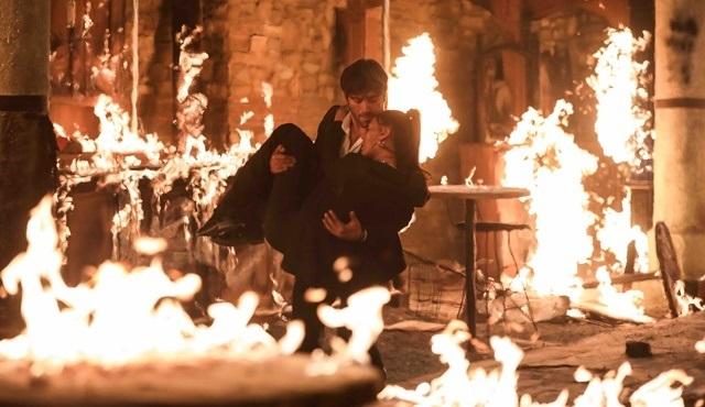Alev Alev dizisi yangın sahnesiyle çok konuşulmaya hazırlanıyor!