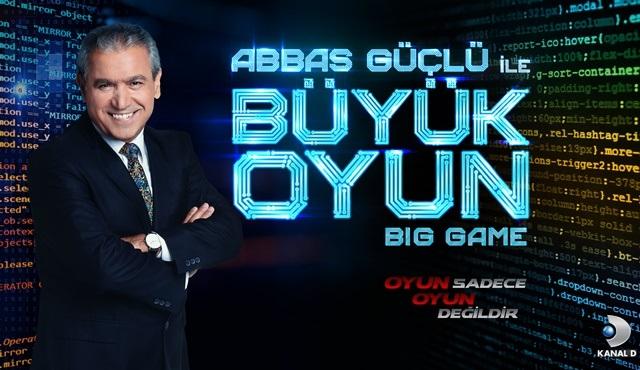 Abbas Güçlü ile Büyük Oyun yakında Kanal D'de başlıyor!