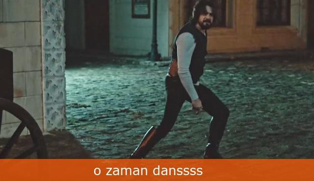 Filinta Caps: O zaman dans!