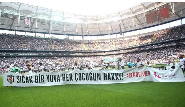 Beşiktaş'tan El Ver Hayata Atılsın Projesine Dev Destek!