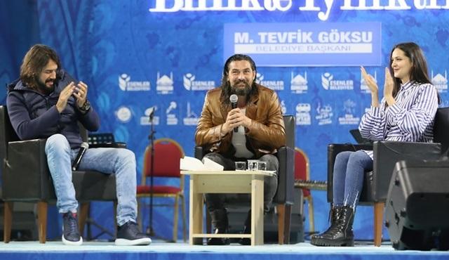 Diriliş Ertuğrul'un oyuncuları, Esenler Belediyesi'nin etkinliğine katıldı!