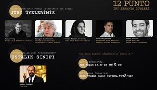 12 Punto TRT Senaryo Günleri'nin bu seneki uluslararası jüri üyeleri belli oldu!