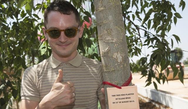 Elijah Wood, EXPO 2016 Antalya alanına 15 bininci ağacı dikti!
