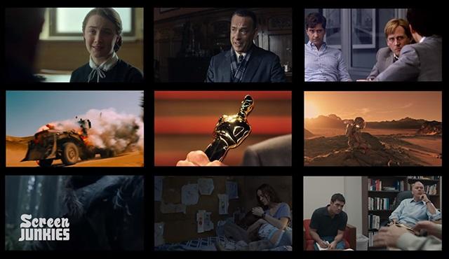 88. Oscar Ödülleri adayları için Honest Trailer geldi