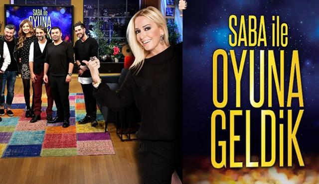 Tv8'in yeni vitrini: Saba ile Oyuna Geldik