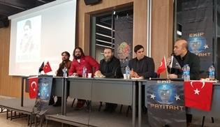 Payitaht Abdülhamid'in oyuncuları, Abdülhamid konferansına katıldı!