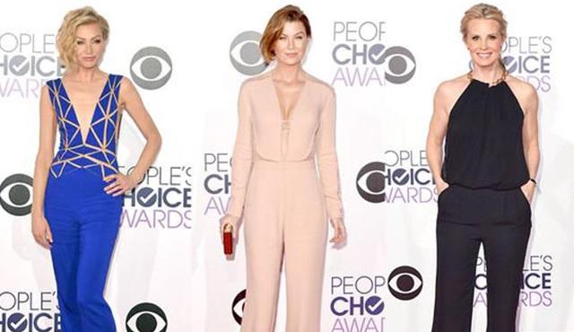 People's Choice Awards: Kırmızı Halının rüküşleri