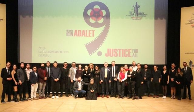 9. Uluslararası Suç ve Ceza Film Festivali'nde ödüller sahiplerini buldu!