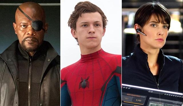 Samuel L. Jackson ve Cobie Smulders, Spider-Man: Far From Home'un kadrosunda