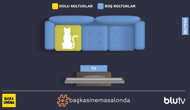 BluTV ile 'Başka Sinema' ile evinizin salonunda!