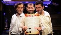 Meçhul Paşa ''Bir Hınzır Neşriyat'' oyunu dünya prömiyerini yapıyor!