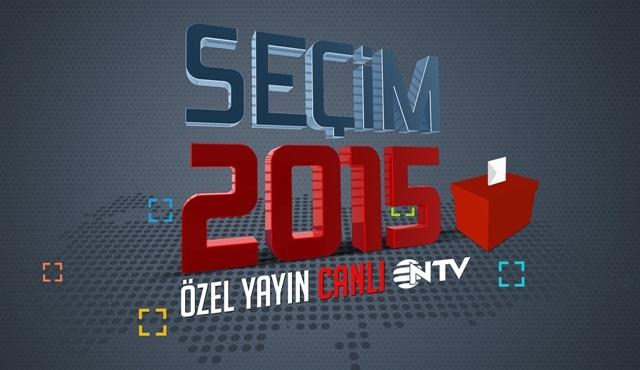 7 Haziran Genel Seçimi ''Seçim 2015'' özel yayınıyla NTV'de!