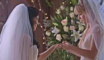Bir düğün çifte mutluluk