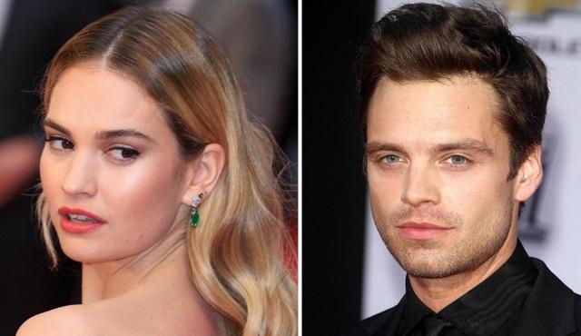 Lily James ve Sebastian Stan, Pam & Tommy dizisinin başrollerine geldi