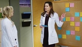 Geena Davis, Grey's Anatomy'ye konuk olarak dönüyor