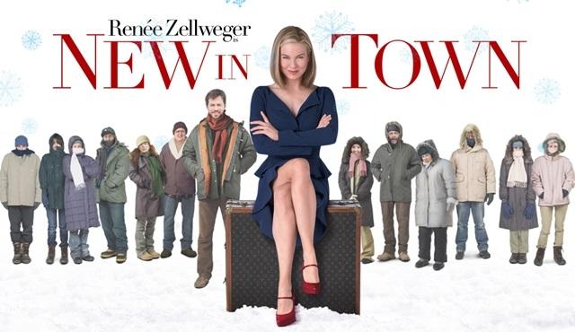 Oscarlı aktris Renee Zellweger'den eğlenceli bir film: Kasabanın Yenisi
