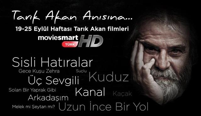 Tarık Akan'ın unutulmaz filmleri D-Smart'ta ekrana geliyor!