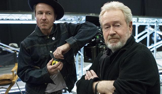 Ünlü yönetmen Ridley Scott ve oğlu reklam filmi çekecekler