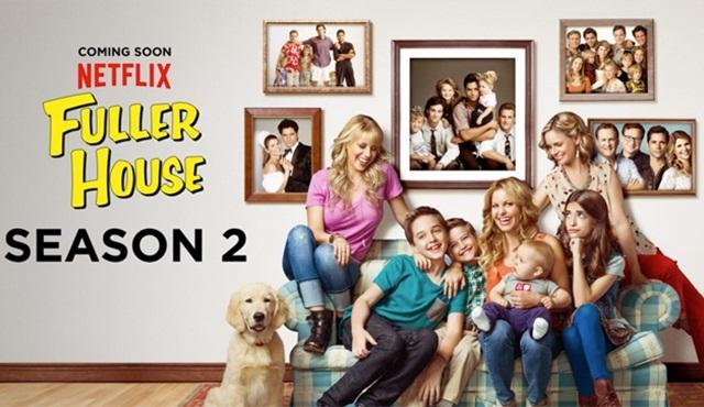 Fuller House dizisinin ikinci sezon fragmanı yayınlandı