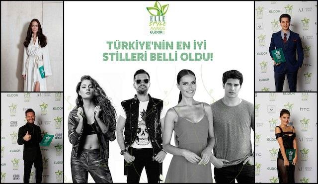 Elidor Elle Style Awards 2014 - Yeşil halı kıyafetleri