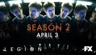 Legion ikinci sezonuyla 3 Nisan'da ekranlara geri dönüyor