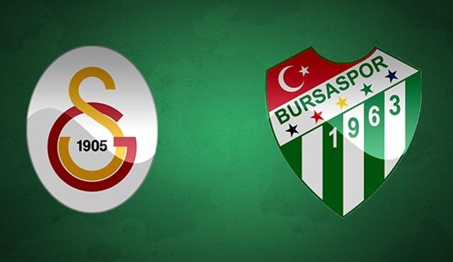 Ziraat Türkiye Kupası Final Maçı: Galatasaray - Bursaspor