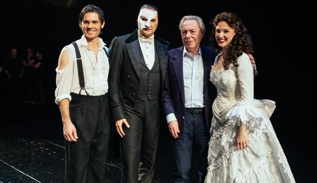 'Operadaki Hayalet' müzikalin bestecisi Andrew Lloyd Webber gösteriyi Zorlu'da izledi!
