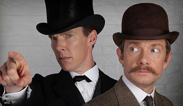 Sherlock'un Noel özel bölümünden yeni bir fotoğraf geldi!