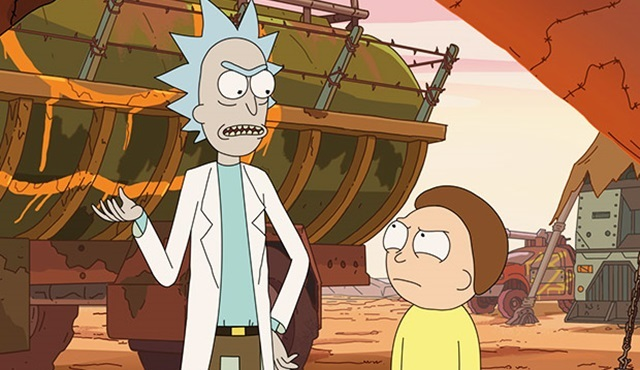 Rick and Morty dizisi 70 bölümlük onay aldı