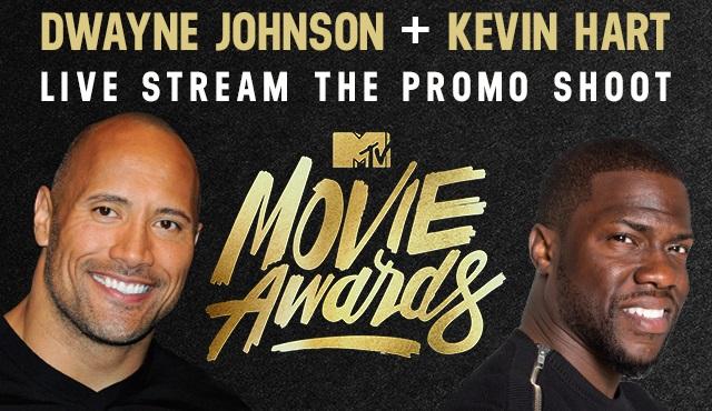 Dwayne Johnson ve Kevin Hart, MTV Film Ödüllerini sunacak
