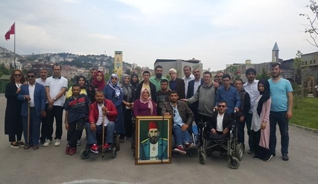 Bağcılar Belediyesi Engelliler Sarayı kursiyerleri Payitaht setini ziyaret etti!