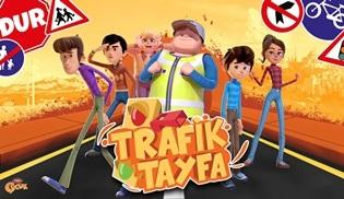 Trafik Tayfa çizgi dizisi her hafta sonu TRT Çocuk'ta ekranlara gelecek!