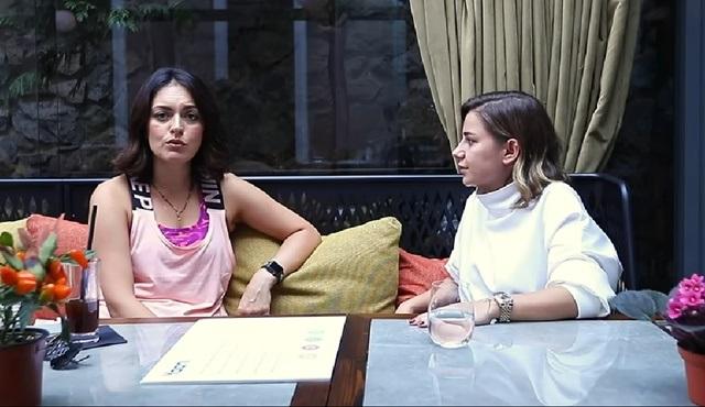 Ezgi Mola, Youtube programında Merve Özbey'i konuk etti!
