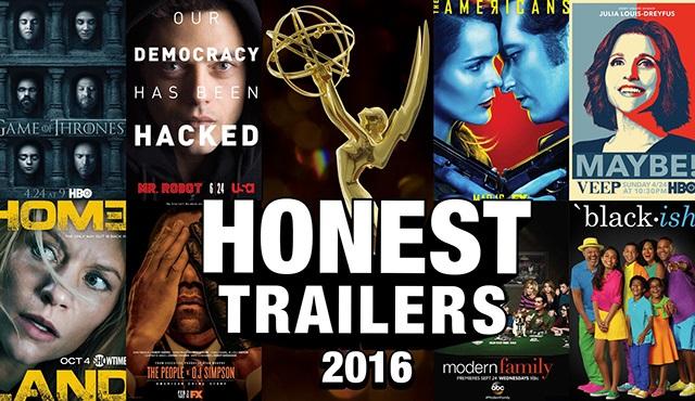 Emmy Ödülleri 2016'ya Honest Trailer geldi
