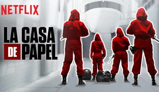 Netflix'ten İspanyolca yeni bir dizi: La Casa De Papel