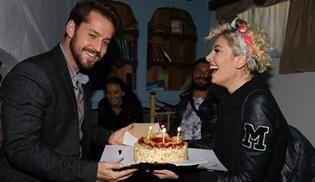 Kertenkele setinde sürpriz doğum günü kutlaması!
